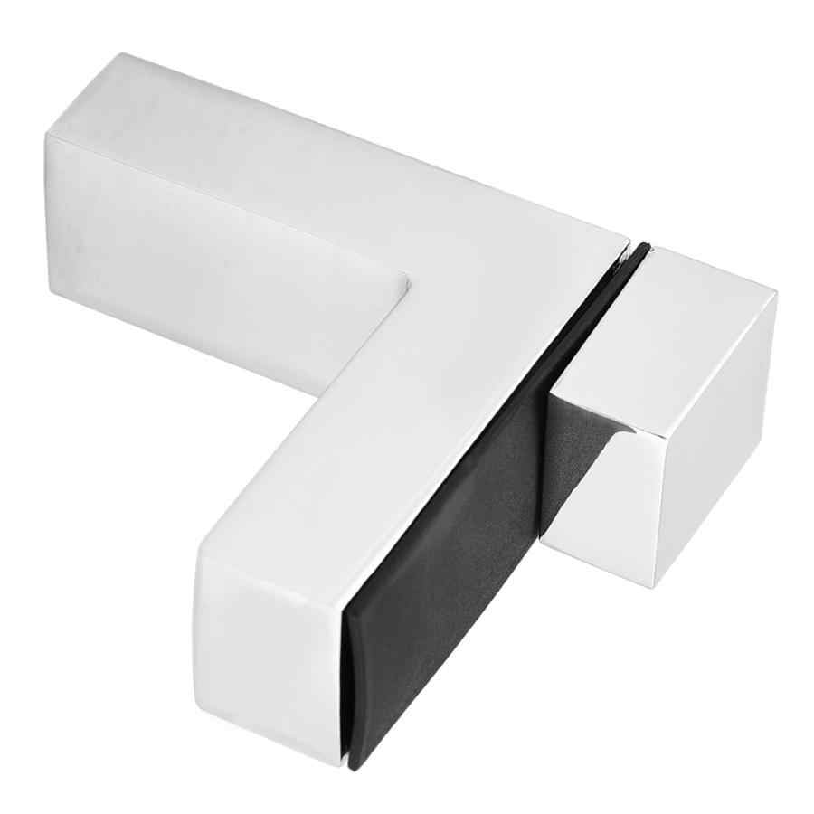 4 قطعة الزجاج الخشب طبقة مجلس الثابتة F-نوع مقاطع رف جدار قوس دعم الوتد مجموعة الرف رف