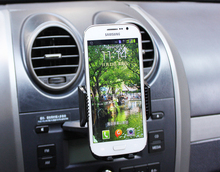 Portable Rotary Car CD Slot Dash GPS Tablet Mobile Phone Mount Stand Holders For Samsung Galaxy S6 EDGE+ S6 Edge Plus/S7 edge