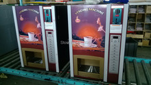 5% discount coffee machine vending 7 hot 7 cold drinks with coin acceptor