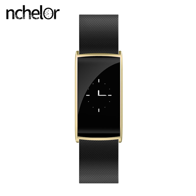 Smart Bracelet HR with Call SMS Reminder Remote Camera IP67 Waterproof Sedentary Reminder for Android IOS Men Women Smart Watch