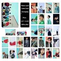 YANZIXG KPOP MONSTA X Album BRILLARE PER SEMPRE Self Made di Carta Carta di Lomo Photo Card HD Tesserino Ventole Regalo Collezione