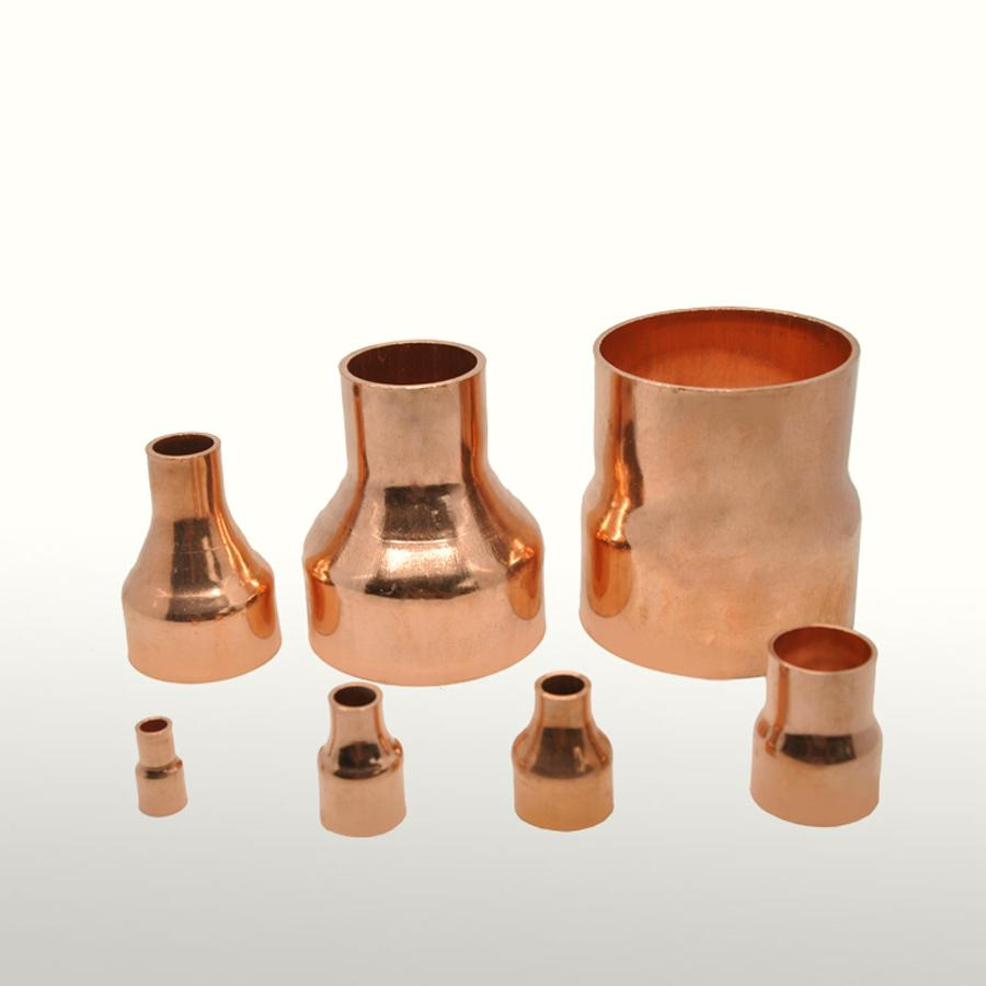 35mmX15mm Inner Diameter Copper End Feed Straight Reducing Coupling Plumbing Fitting Scoket Weld Water Gas Oil