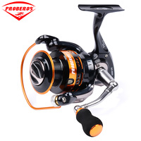 PRO BEROS Metal Fishing Reel Coil Spinning Reels and Shallow Spool Three models 1000/2000/3000 Series 5:2:1 11BB Cast precision