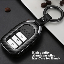 1pc Styling Car Key Case Shell Cover Protector Storage Bag Accessories for Honda Accord CR-V CIVIC Insight HR-V Odyssey