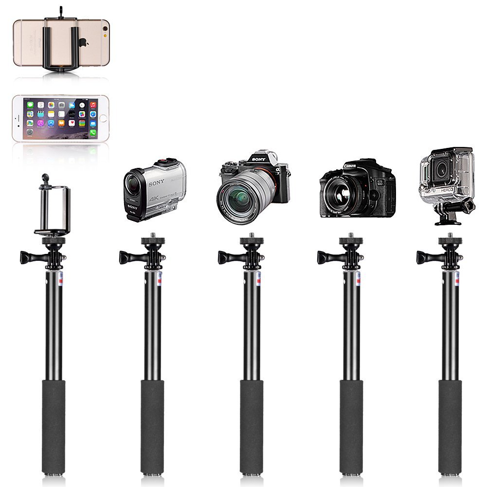 Image 5 - Camera Dolly Kit Mobile Rolling Sliding Dolly Stabilizer Skater Slider Hand Held Monopod 7 inches Adjustable Friction Magic Arm-in Photo Studio Accessories from Consumer Electronics