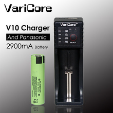 In VariCore V10 1.2 3.7 3.85 The AA/AAA 18350 26650 18650 14500 16340 25500 lithium battery smart charger for panasonic 2900 mAh