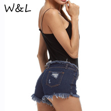 2017 hole ripped short jeans women pants Cool denim vintage skinny sexy jeans for girl Mid waist casual pants female bottoms