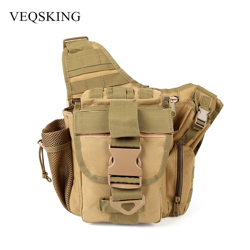 Sports & Entertainment Camping & Hiking Outdoor Tactical Saddle Bag Men Messenger Cross Body Bag Ridding Fishing 600d Military Tactical Backpack Camera Shoulder Bag