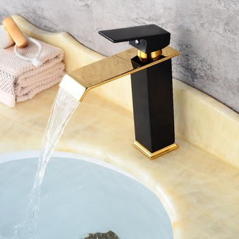 BECOLA Black Bathroom Sink Mixer Faucet Basin Water Tap Oil Rubbed Finish Single Handle Hot And Cold Deck Mounted Eleg B2018A01B