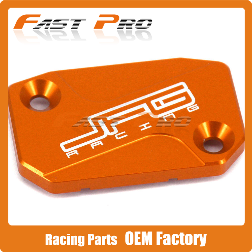 CNC Front Brake Fluid Reservoir Cover Cap Fit For KTM SX SXF SMR EXC EXC-F XC XC-W 125 144 150 250 300 350 400 450 530 цена 2016