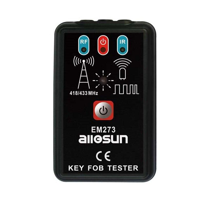 Tous les Mini Sun numérique voiture clé Fob testeur sans fil Radio fréquence Signal récepteur compteur Automobile à distance outil de Diagnostic