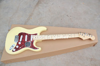 handmade Chinese cheap ST electric guitar st44