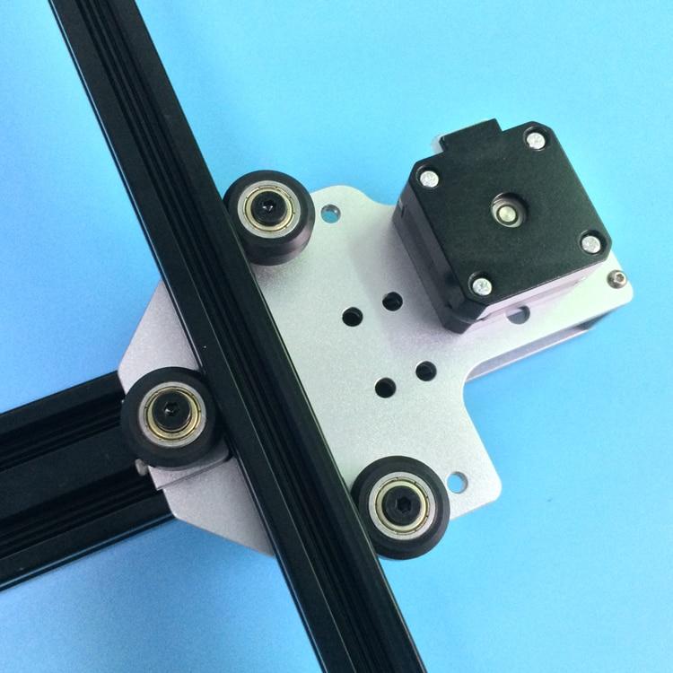 1 set Tronxy 3D imprimante mise à niveau en aluminium X axe moteur montage 2040 v-slot pour Tronxy 3D imprimante - 2