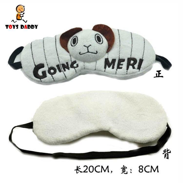 8cm One Piece Eyepatch Eye Sleep Mask Going Merry Goggles Eyeshade Animation Action Figure Gift Toys Free Shipping