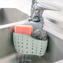 Creative Sponge Storage Rack Basket Wash Cloth Or Toilet Soap Shelf Organizer Kitchen Gadgets Accessories Drain rack