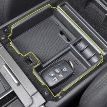 Центральный подлокотник ящик для хранения автомобиля Органайзер для Land Range Rover Evoque 2016-2012 контейнер держатель лоток аксессуары для автомобиля Стайлинг
