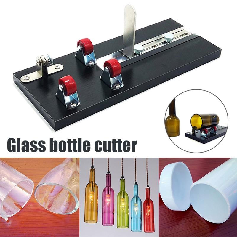 DIY Glass Bottle Cutter Aluminum Alloy Better Cutting Control Create Glass Sculptures WWO66