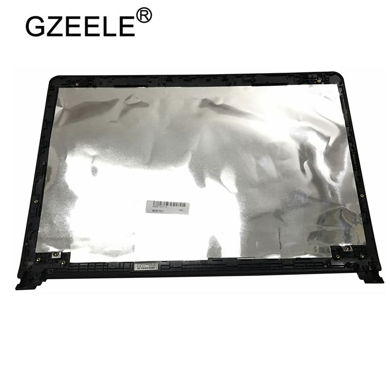 GZEELE New LCD Back Cover For Dell Inspiron 7557 7559 02J2N0 2J2N0 Non-touch Non-Touchscreen Version Top Shell Lid Rear Case