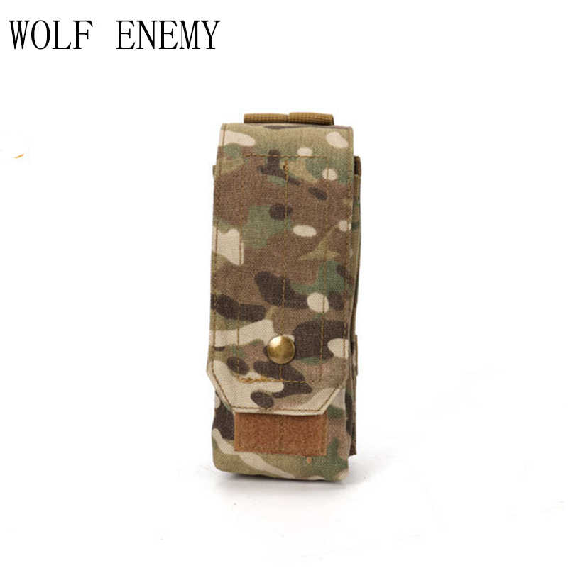 Tactical Airsoft Molle Single AK Magazine Pouch Outdoor Tactical Military Bags