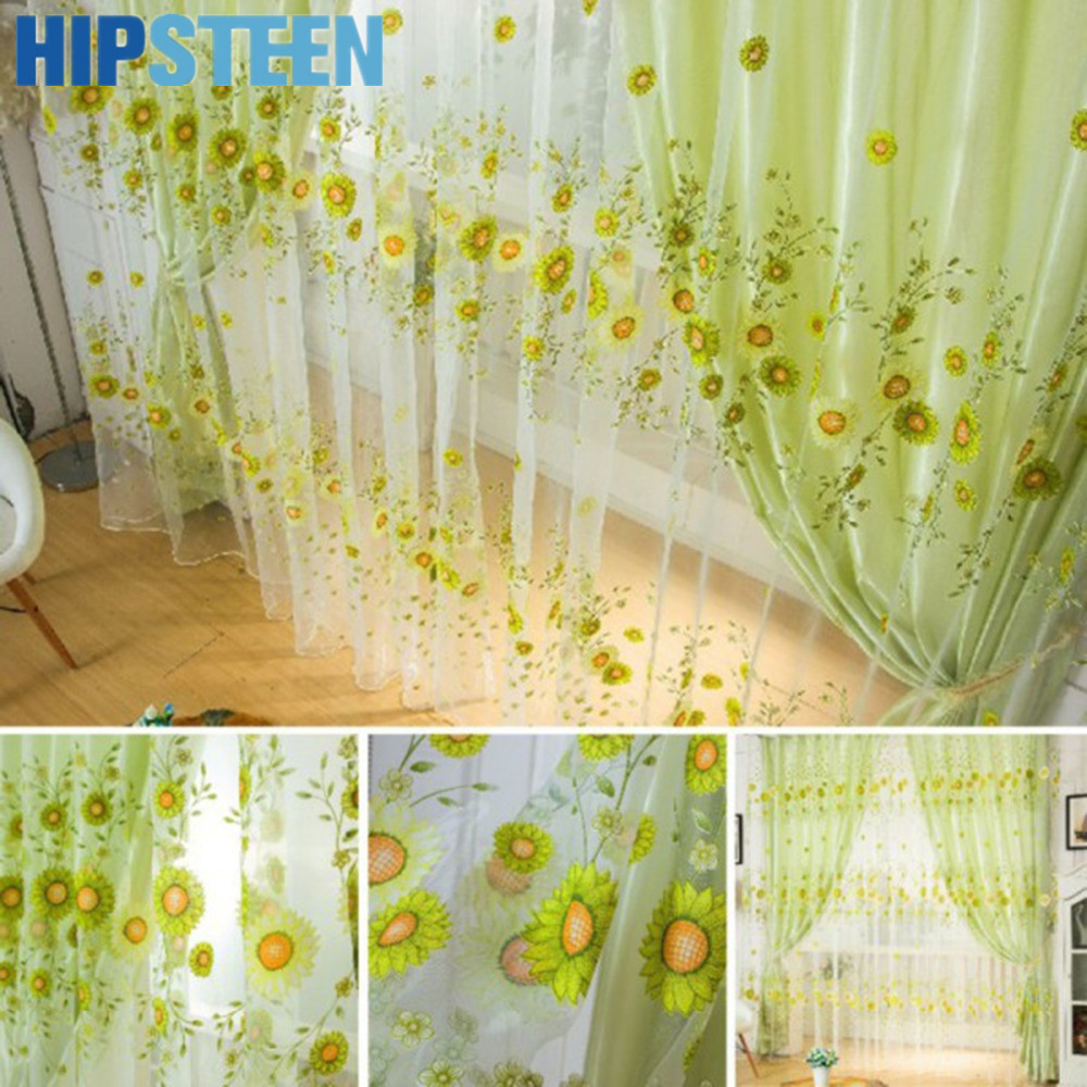 Sunflower Curtains For Kitchen Compare Prices On Sunflower Kitchen Curtains Online Shopping Buy