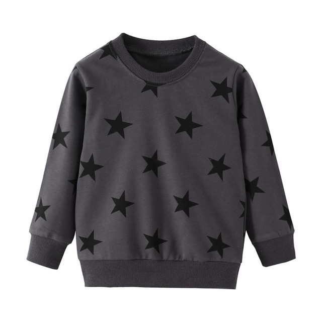 Jumping Meters New Stars Sweatshirts Baby Boys Girls Outwear Cotton Clothing Fashion Style Children Tops Autumn Spring Shirts 1