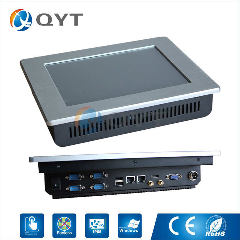Embedded panel pc IR touch N2800 1.6GHz 10 Infrared touch Resolution 800x600  industrial computer2GB DDR3 32G SSD