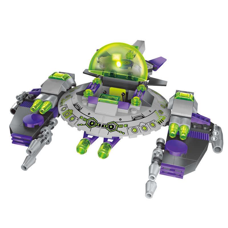 Новые 3D собранные Обучающие игрушки серии звезды против инопланетян legoings модель DIY Строительные Конструкторы Игрушки Дети Legoingly звезда