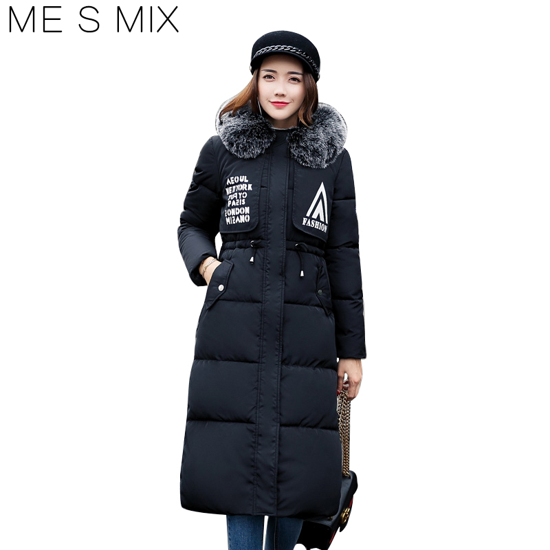 2017 ME S MIX Free Shipping New Fashion Long Winter  Women Slim Female Coat Thicken Parka Cotton Clothing Hooded Student outwear кофта adam pour eve