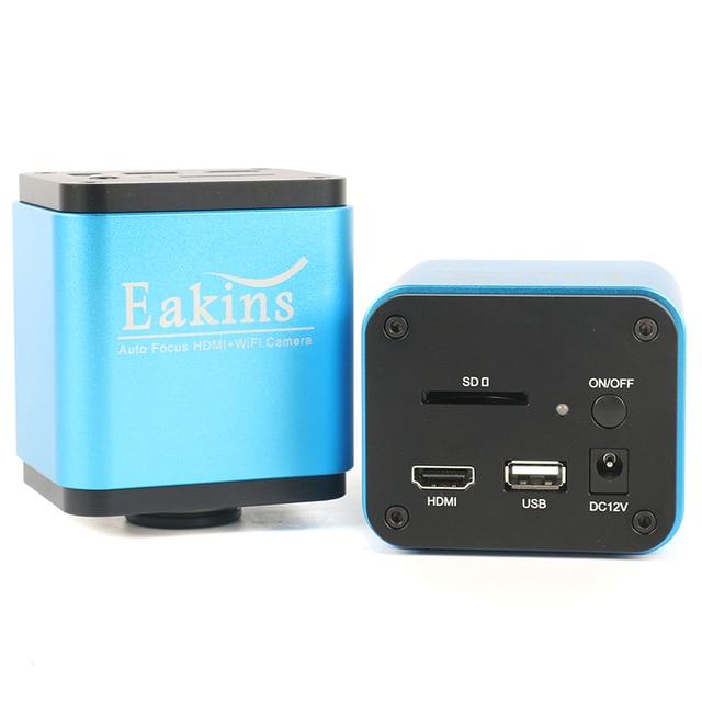 Autofocus microscopio con cámara HDMI, WIFI, SONY, Sensor IMX185, IMX178, 1080P, 60fps, de vídeo de alta velocidad para la industria automatizada