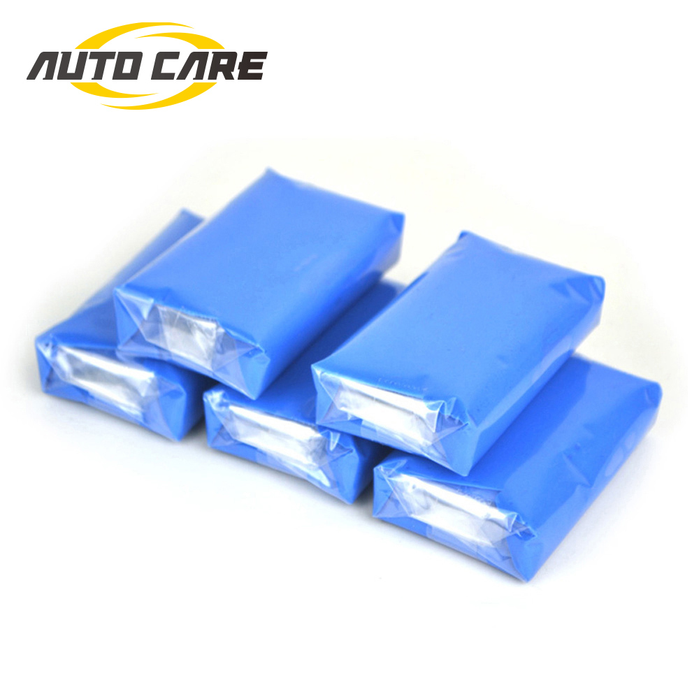 Auto Care 5pcs100g Magic Car truck Clean Clay Bar Auto Detailing Cleaner Car Washer Blue-in Sponges, Cloths & Brushes from Automobiles & Motorcycles