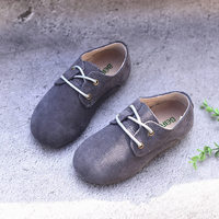 New Real Leather Children shoes Suede kids Oxfords shoes Boys Loafers shoes Kids Sneakers Children casual shoes
