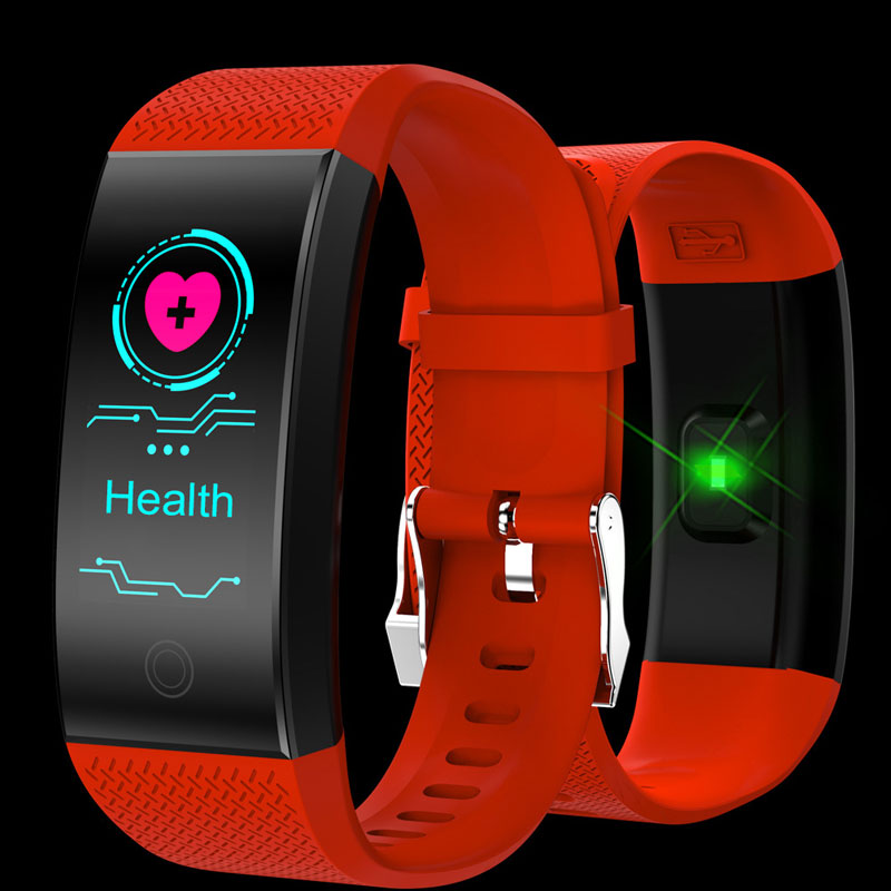 2019 New Sports Smart Watch Men Waterproof Watches Couple Heart Rate Blood Pressure Blood Oxygen Monitoring Smart Bracelet Women