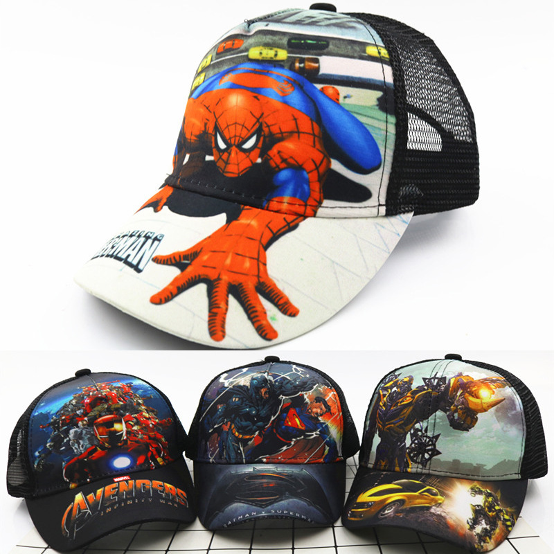 Realistic 2019 Baby Boy Girl Hats New Spiderman Cartoon Baby Embroidery Cotton Baseball Caps Kids Boy Girl Hip Hop Hat Kids Snapback Kleidung & Accessoires