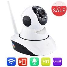 Новый Arrivall HD 720 P WI-FI Беспроводная Ip-камера Ик-cut CCTV Камеры Безопасности P2P ONVIF Скрытые IP камера Wi-Fi