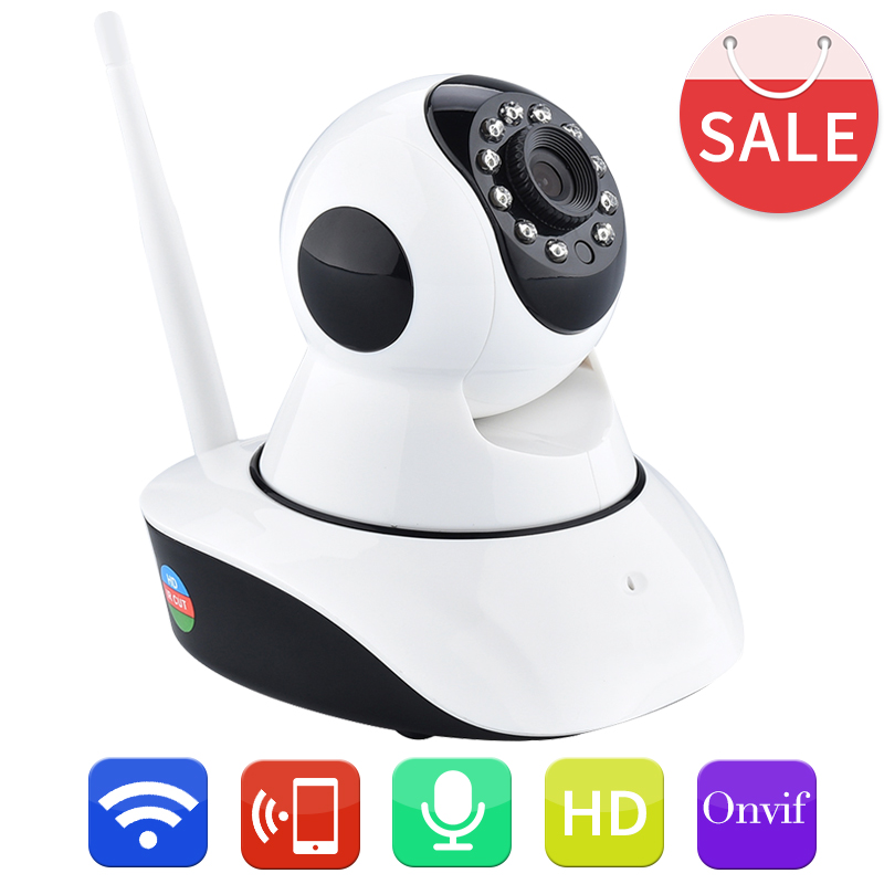 New Arrivall HD 720P WIFI Wireless IP font b Camera b font IR Cut CCTV Security