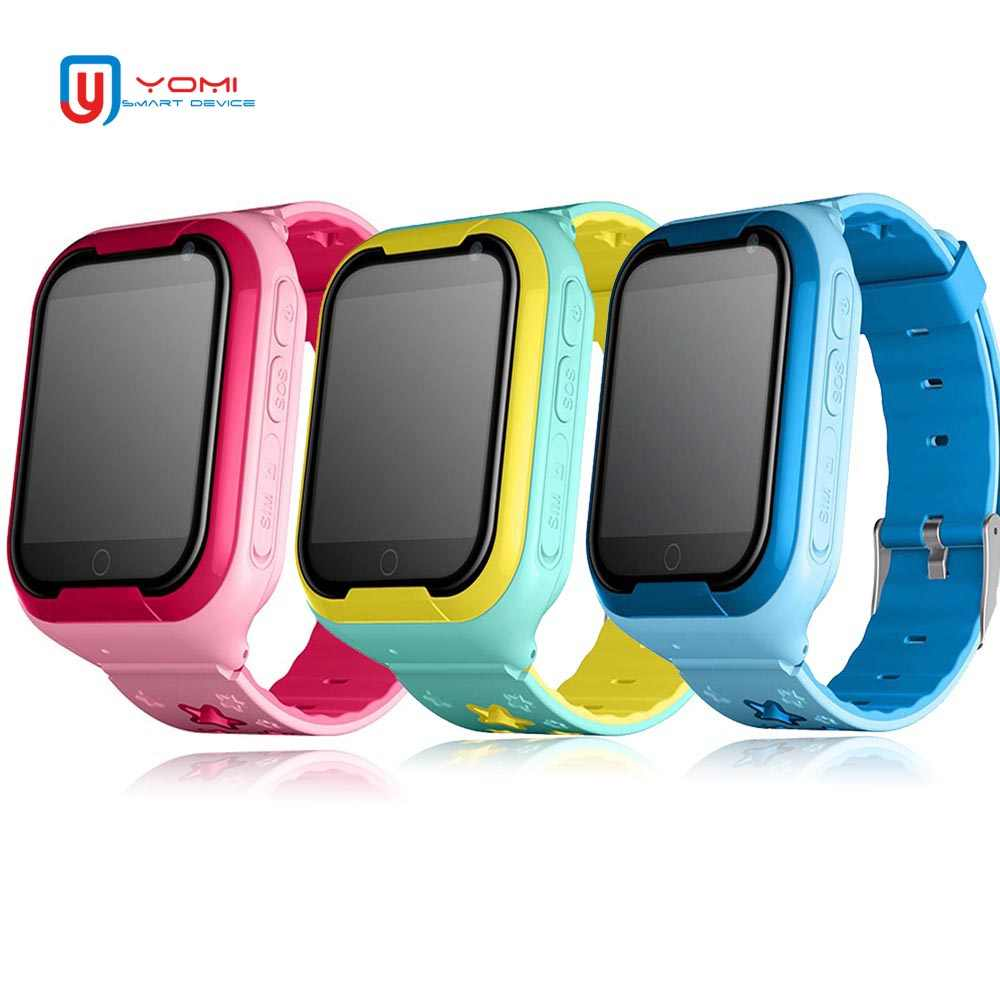 Kids Smart Watch 4G 1.54' Touch Screen GPS Kids Watch SOS Call Monitor Location Tracker Support Voice Chat Baby Smart Wristwatch