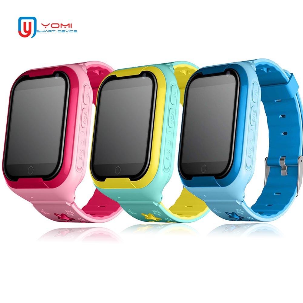 Bambini Orologio Intelligente 4G 1.54 'Touch Screen GPS Bambini Della Vigilanza SOS di Chiamata Monitor Posizione Tracker di Supporto Chat Vocale bambino Intelligente Orologio Da Polso