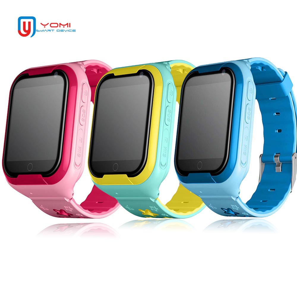 Kids Smart Watch 4G 1.54' Touch Screen GPS Kids Watch SOS Call Monitor Location Tracker Support Voice Chat Baby Smart Wristwatch|Smart Watches| |  - title=