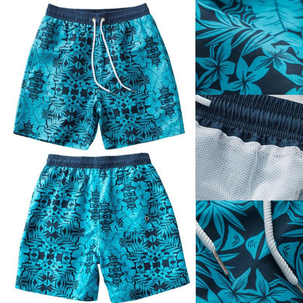 MUQGEW Ropa Hombre Modis   Board     Shorts   Men   Short   Masculino Beach Surfing Running Swimming Quick Dry High Quality Blue M-3XL Size
