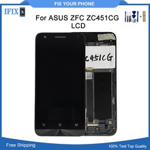 For Asus Zenfone C ZC451CG Z007 LCD Display Touch Screen With Frame Digitizer Assembly