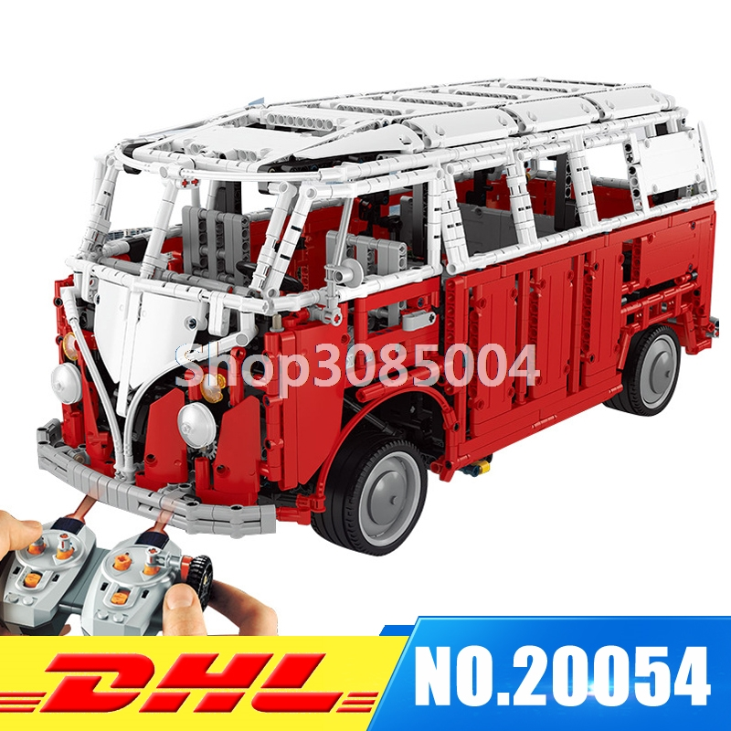 IN Stock LEPIN 20054 4237Pcs The MOC Technic Series The Remote Control T1 Classic Camper Set 10220 Building Blocks Bricks Toys цена и фото