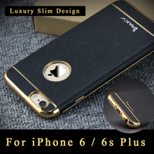 Полная защита 6 6S чехол оригинальный iPaky кожаный чехол для iPhone 6 Чехол для iPhone 6S Роскошные Сельма чехол для iPhone6 случае 4.7″