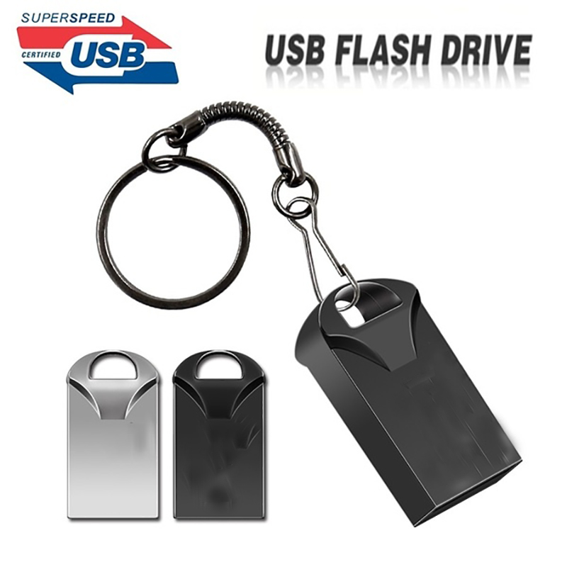 100% Original Genuine USB 3.0 Mini Metal USB Flash Drive 8GB 16GB 32GB 64GB 128GB 256GB Pen Drive Memory Stick 3 Years Warranty