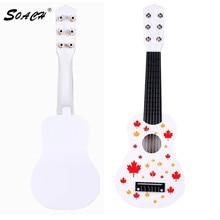 SOACH  2016 new Children bass guitar 6-string ukulele animal floral motifs guitar factory direct wholesale Four kinds of pattern