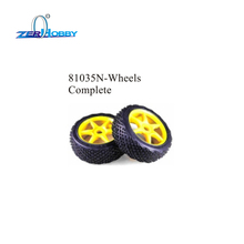 цена HSP RACING SPARE PART 81036 WHEEL RIMS, 81087 TREAD TIRES W/FOAM, 81290 TREAD TIRES, 81035N WHEELS COMPLETE FOR 1/8 SCALE BUGGY