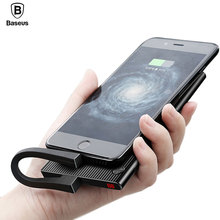 Baseus 10000mAh Dual USB LCD Power Bank For iPhone X 8 7 6 Portable Powerbank Mobile Phone External Battery Charger Poverbank
