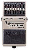 Boss аудио GEB 7 7 полосный Bass EQ педаль эффектов, 7 полосный эквалайзер Bass с уровня Управление ручка с бонус педаль случае