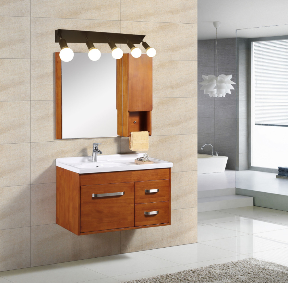 Square mirror front bracket lamp LED bathroom wall lamps bedroom dressing light bulb waterproof fog 3