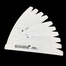 5Pcs/lot Strong Thick Wood Nail Files 180/240 Sandpaper Buffer Block Emery Board Professional Manicure Sunshine File