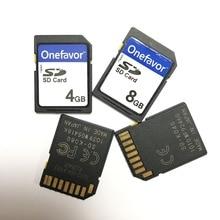 Хит! 4 ГБ 8 ГБ SD SDHC карта Onefavor безопасная цифровая стандартная SD флэш карта памяти